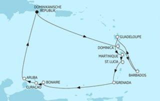 Mein Schiff 5 Karibik 1 ©TUI Cruise