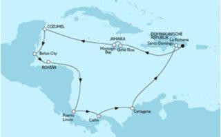 Mein Schiff 6 Karibik und Mittelamerika 1 © TUI Cruises