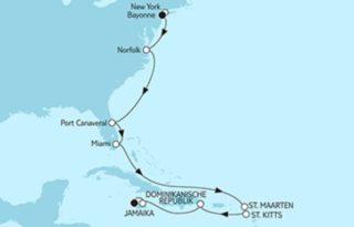 Mein Schiff 6 New York bis Jamaika ©TUI Cruises