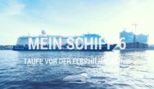 Mein Schiff 6 Taufpatin Iveta Apkalna – Taufe vor der Elphilharmonie