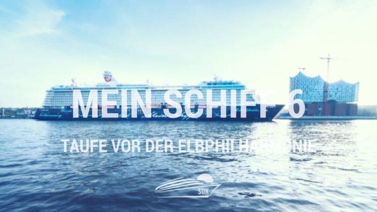 Mein Schiff 6 Taufe am 01. Juni 2017 vor der Elbphilharmonie / Foto © TUI Cruises