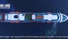 MS Amadea – Luftaufnahmen vom ZDF Traumschiff aus Chile