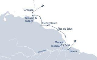 MS Hamburg Karibik trifft Amazonas © Plantours