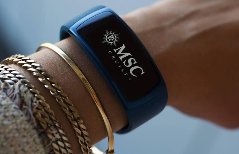 MSC for Me - NFC-Armband © MSC Kreuzfahrten