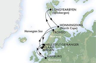 MSC Preziosa Spitzbergen Kreuzfahrt © MSC Kreuzfahrten