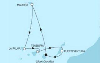 Neue Mein Schiff 1 Kanaren mit Madeira ©TUI Cruises