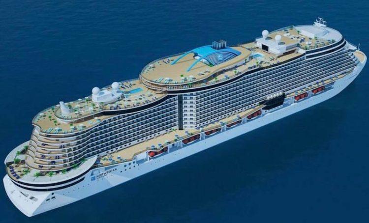 Luftansicht der neuen Leonardo Klasse / © Norwegian Cruise Line