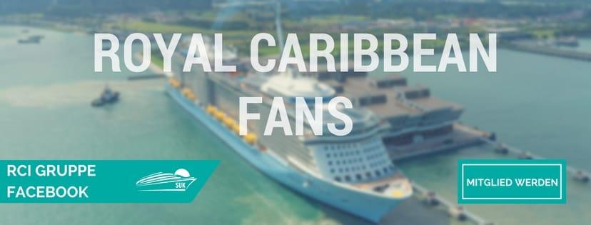 Werde Mitglied in der Royal Caribbean Facebook-Gruppe