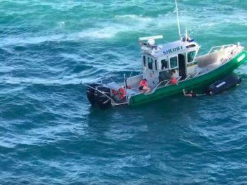 Sheriff rettet zwei Frauen vor dem sicheren Tod / © Youtube (Anthony Miglioranzi)
