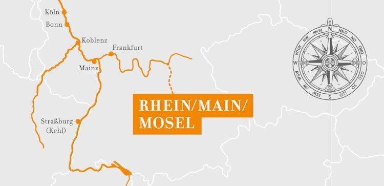 A-Rosa Aqua/Brava Rhein Silvesterkreuzfahrt ©A-Rosa Flussschiffe