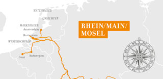 A-Rosa Flora Rhein Erlebnis Holland und Belgien ©A-Rosa Flussschiffe