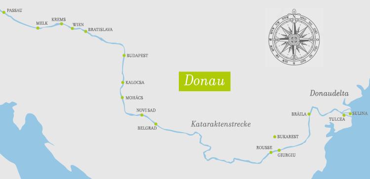A-Rosa Mia 16 Tage Donau Delta ©A-Rosa Flussschiffe