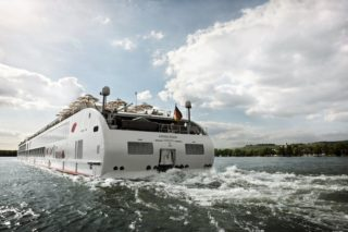 Der A-Rosa Neubau wird das erste A-Rosa Schiff auf dem Douro in Portugal sein / © A-Rosa Flusskreuzfahrten