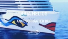 AIDA Helios mit angeschrägtem Bug