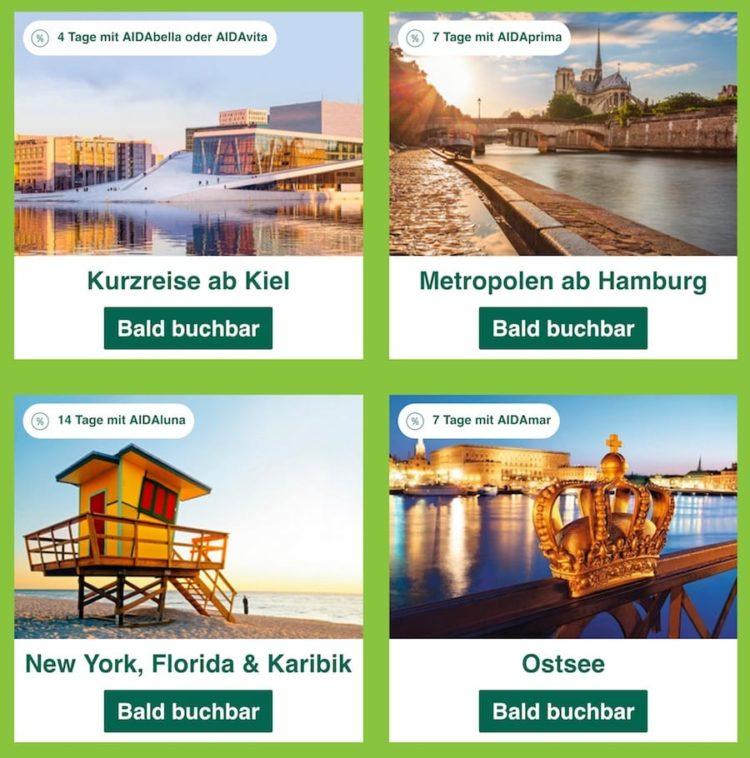 AIDA Reisen zu Sparpreisen an Ostern / © AIDA Cruises