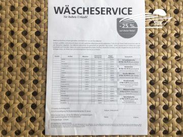 Preise und Infos zur AIDA Reinigung - AIDA Wäscheservice an Bord