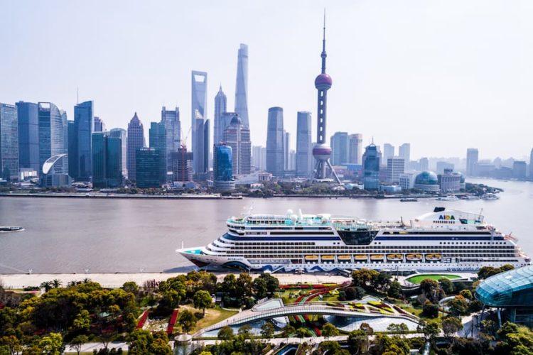 AIDAbella besucht das erste Mal China / © AIDA Cruises