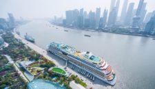 AIDA in Shanghai: Bilder von AIDAbella in China