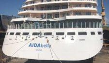 AIDAbella: Trockendock mit Gästen & Treffen mit AIDAperla