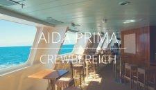 AIDAprima – Crewbereiche