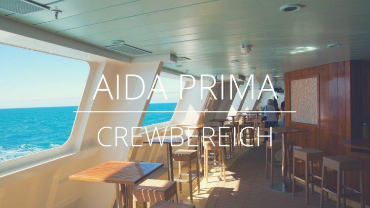 AIDAprima - Crewbereiche