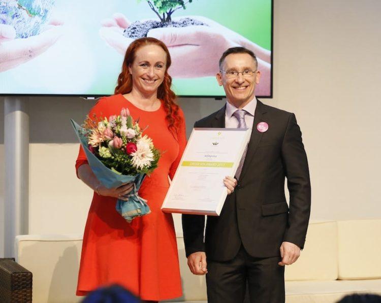 Der Organic Body & Soul Spa von AIDAprima erhält den GREEN SPA Award 2017 vom Deutschen Wellness Verband e.V. und der Messe Düsseldorf. / © AIDA Cruises