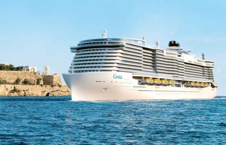 Costa Smeralda heisst der erste Costa LNG-Neubau von der Meyer Turku Werft / © Costa Kreuzfahrten