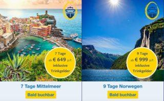 Die Costa Oster Stars - Costa Schnäppchen zu Ostern 2017
