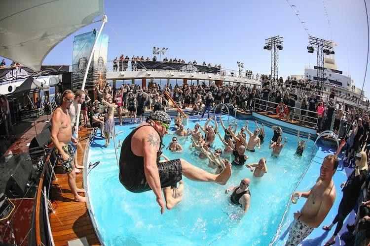 Full Metal Cruise IV im April 2018 / © TUI Cruises