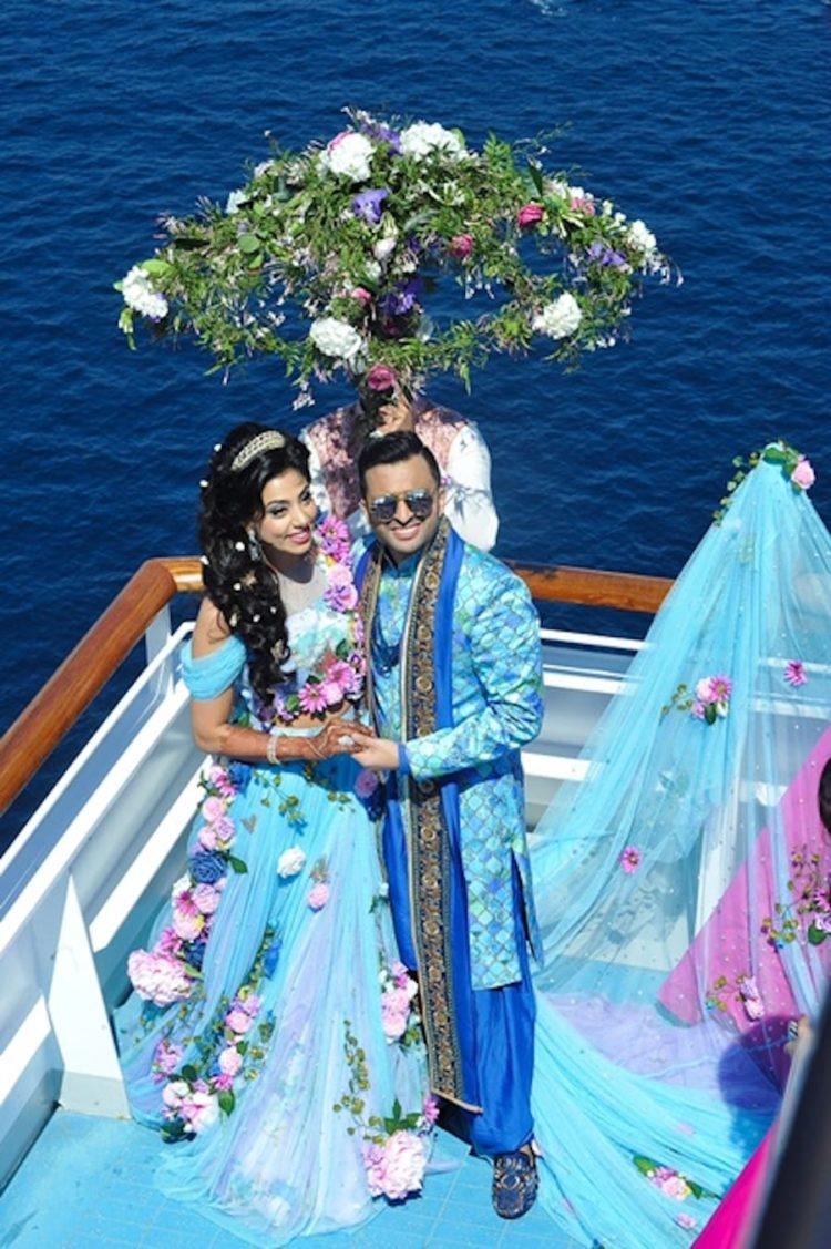 Indische Hochzeit an Bord der Costa Fascinosa / © Costa Crociere