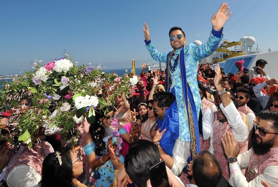 Costa Fascinosa Indischer Milliardär Feierte Hochzeit