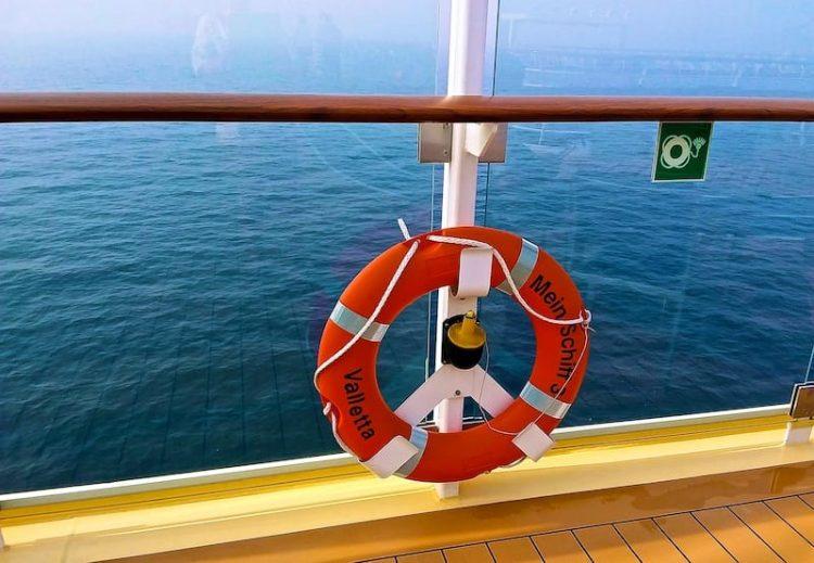 Seetag auf der Mein Schiff 3