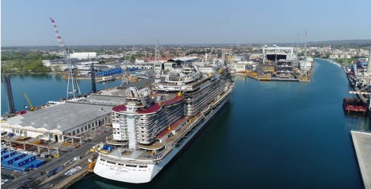MSC Seaside Luftaufnahme © Inselvideo