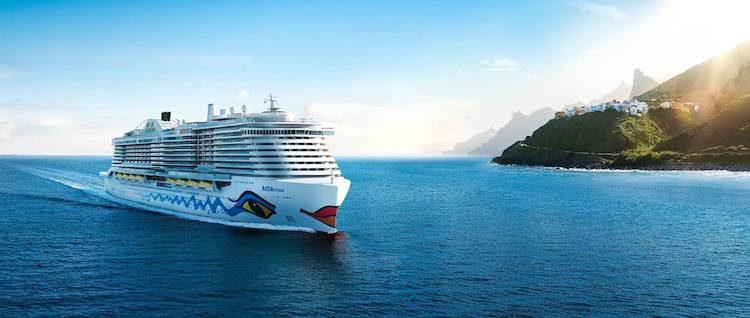 AIDAnova ist das weltweit erste Kreuzfahrtschiff mit LNG-Antrieb / © AIDA Cruises