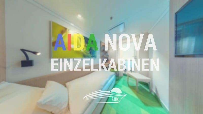 Einzelkabinen und Singlekabinen auf der AIDAnova