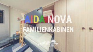 Familien-Kabinen auf der neuen AIDAnova