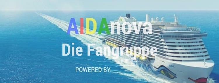 Werde Mitglied in der AIDAnova Facebook-Gruppe