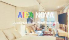 AIDAnova: Junior Suiten mit Wintergarten (Lanai Kabinen)
