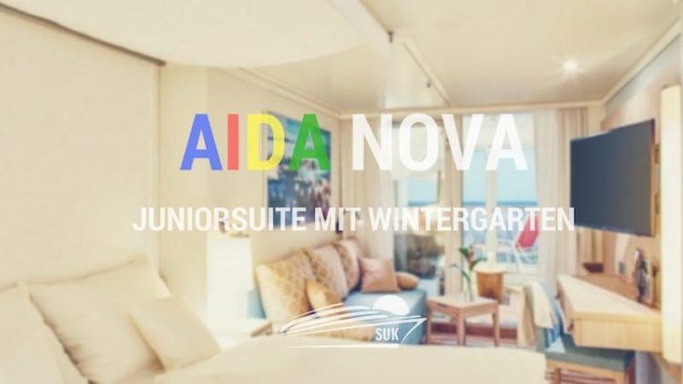 Die neuen Junior Suiten mit Wintergarten (Lanai Kabine) auf AIDAnova