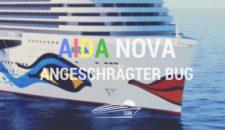 AIDAnova: Neue Bugform – wieder leicht schräg