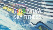 AIDAnova: Fitnessgeräte auf dem Aussendeck (Sky Fitness)