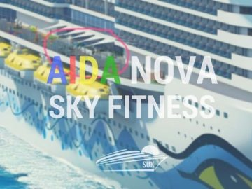 Sky Fitness auf der AIDAnova