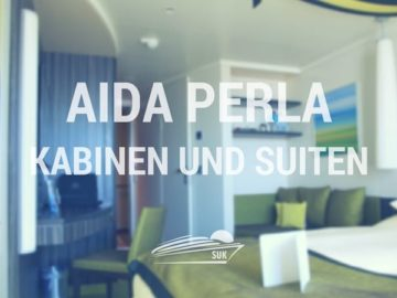 AIDAperla Kabinen und Suiten