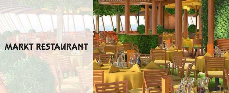 Das Markt-Restaurant auf AIDAperla / © AIDA Cruises