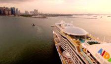 Video: AIDAperla ist in Singapur – Abfahrt nach Salalah im Oman