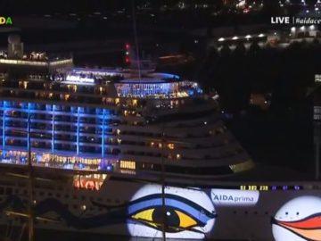 AIDAprima Feuerwerk - 1. Geburtstag / © AIDA Cruises