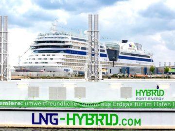 AIDAsol nutzt in Hamburg ausschließlich Landstrom / © AIDA Cruises