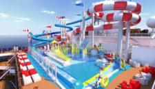 """Wasserspielplatz """"Dr. Seuss WaterWorks"""" auf der Carnival Horizon"""