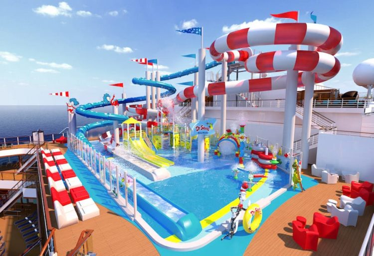 Carnival Horizon - Dr. Seuss Waterworks - Kinderspielplatz / © Carnival Cruise Line