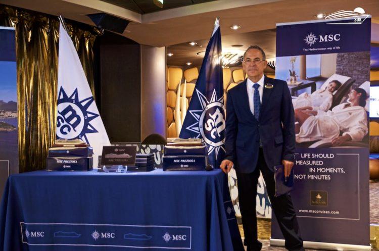 Franco Pili (Cruisedirector MSC Preziosa)